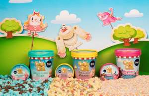 Rossi Candy Crush Ice Cream 500ml tubs £1.99 in Home Bargains