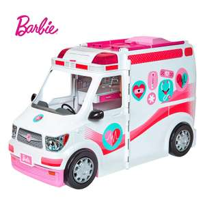 Barbie Care Clinic Ambulance and Hospital Playset currently £54.97 at Asda NOW £24.99 delivered at Amazon