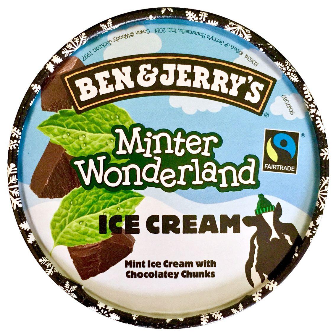 Ben and Jerry's Minter Wonderland ice cream £1.25 @ Co-operative