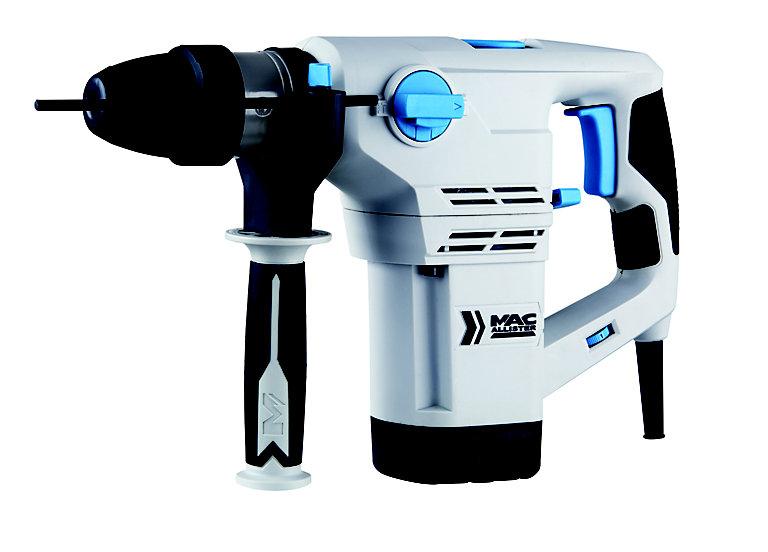 Mac Allister 1200W Corded SDS plus Rotary hammer drill - £35 at B&Q