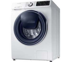 SAMSUNG QuickDrive + AddWash WW80M645OPW Smart 8 kg 1400 Spin Washing Machine £432.10 @ Currys