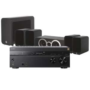 Sony STR-DN1080 AV Receiver with Q Acoustics 3010i Cinema Pack & Free Cable Pack £999 @ Peter Tyson Audio Visual