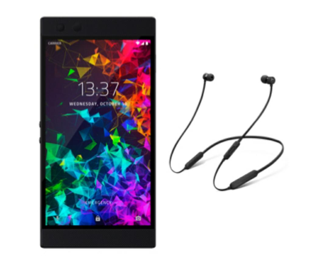 Razer Phone 2 64GB Mirror Black + Free BeatsX Headphones (Worth £99) £494.99 Including Minimum Top Up @ Three