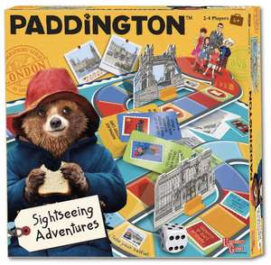 Paddington Bear sightseeing board game. Double reduction now £5.89 (Prime) £10.38 (Non Prime) @ Sold by Clickmegetme and Fulfilled by Amazon