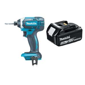 Makita DTD152Z 18V Li-ion Cordless Impact Driver with 1 x 5.0Ah BL1850 Battery £68.99 Delivered @ Amazon