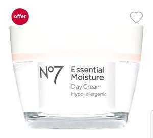 Boots Advantage Card offer £7 off selected No7 means 50ml day cream is £2.50