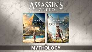 PC Assassin's Creed Mythology Pack - Assassin's Creed Origins and Odyssey (£29.59 with 20% Uplay code/£36.99 without) @ Ubisoft Store