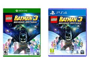 Lego Batman 3: Beyond Gotham (Xbox One / PS4) for £9 49 with code