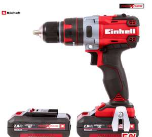 Einhell PXC TE CD18Li-I BL Power X-Change 18V Li-Ion Cordless Brushless Combi Drill 2 x 2.0Ah, Fast Charger & Case £99.98 Delivered @ Wickes