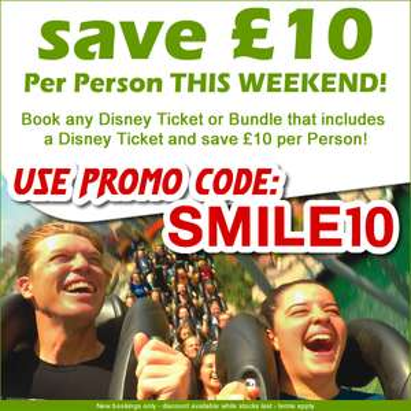 Walt Disney World Resort 14 Day Ultimate Adult £374 @ Orlando Attraction Tickets