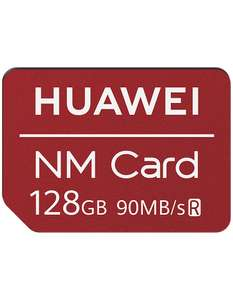 Huawei 128GB Nano Memory Card £39.99 with free next day delivery or click and collect from Carphone Warehouse