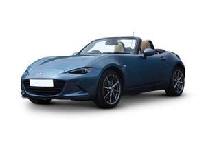 Mazda MX-5 Convertible 1.5SE (132bhp) Lease. 6+35@£188.51=£7729. 3yr, 8,000mpa @ What Car? Leasing