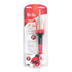 Weller High Performance Soldering Iron with LEDs (25 W) £11.95 @ Homebase (Free C&C)