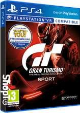 Gran Turismo Sport (GT Sport) - PlayStation VR on PlayStation 4 for (£15.85 @Shopto) ( £16.85 @ Simlygames) (£15.95 @The Game Collection))