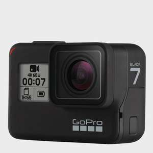 GoPro Hero7 Camera Black - Price Promise at Blacks for £287.10 with price match