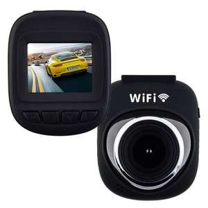 Dashcam FHD 1080p (Wi-fi, WDR, Motion Detect, GSensor, Cycle Recording, Audio Record, Parking Monitor) at MyMemory for £18.74