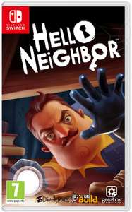 Hello Neighbor (Nintendo Switch) now £27.99 delivered at Amazon
