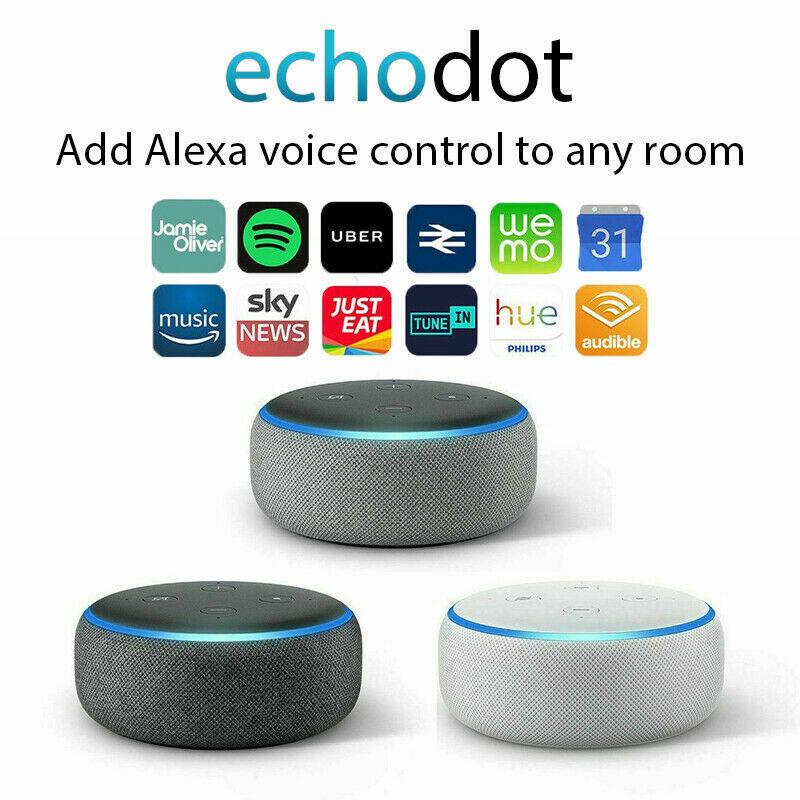 Amazon Echo Dot (3rd Gen) Charcoal / Heather Grey  / Sandstone £29.99 Free C&C @ Argos / Argos eBay & Currys