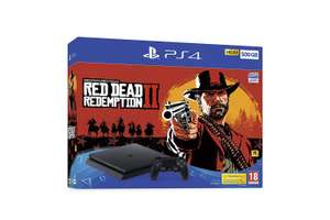 Sony PlayStation 4 500GB Console Black with Red Dead Redemption 2 @ Amazon Warehouse Used Good £162.97 Delivered (20% Reduction At Checkout)