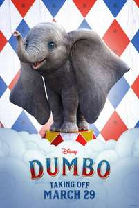 Dumbo tickets free VeryMe -  5 VUE locations at 10.30am on the 17th of April 2019: