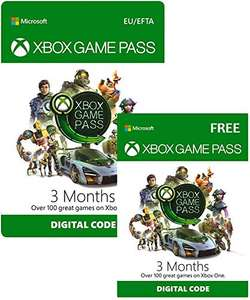 Xbox Game Pass | 3 Month + 3 Month FREE - Download Code £23.99 @ Amazon & Game