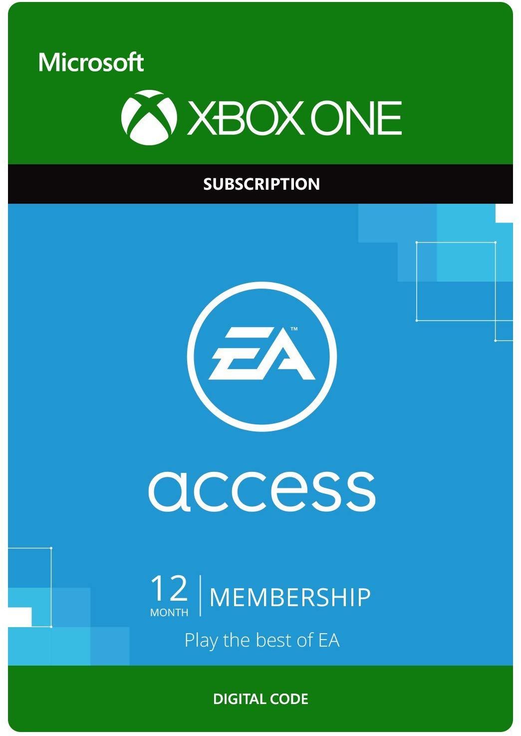 EA Access - 1 Year Membership £14.99 [Xbox One - Download Code] @ Amazon