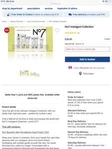 No7 Indulgent Collection gift set £26 boots