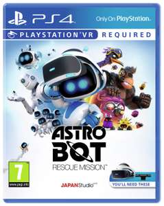 Astro Bot Rescue Mission PS VR Game (PS4) for £15.99 @ Argos