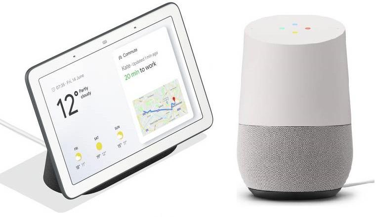 Google Home £69 // Google Home Hub Charcoal / Chalk £99 Free C&C @ Argos / Argos eBay & Currys / John Lewis & Partners