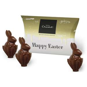 Free 'Easter Pack' from Hotel Chocolat at vodafone VeryMe -  three individually wrapped solid chicks or bunnies