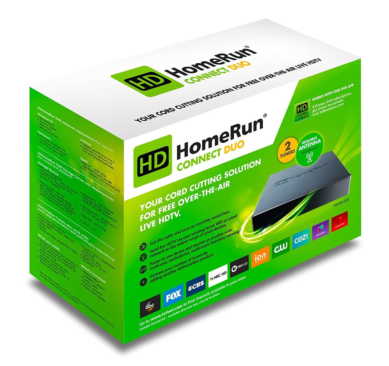 Silicondust HDHomeRun Connect Duo Network TV Tuner £80.00 / Quad Tuner £119.99 Amazon