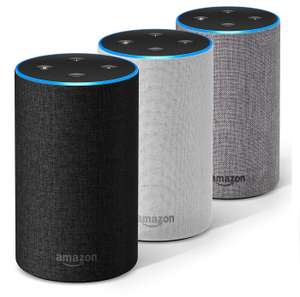 Amazon Echo (2nd Gen.) Charcoal / Sandstone / Heather Grey £64.99 delivered @ Amazon & John Lewis