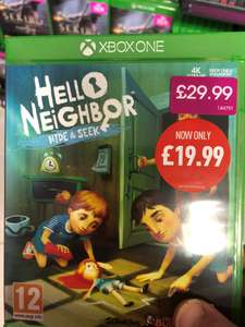 Hello Neighbor Hide and Seek Xbox One / PS4 £19.99 at Game
