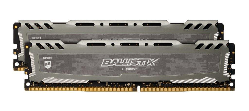 Ballistix Sport LT 16GB (2x 8GB) 3000MHz DDR4 RAM, £78.96 at CCL