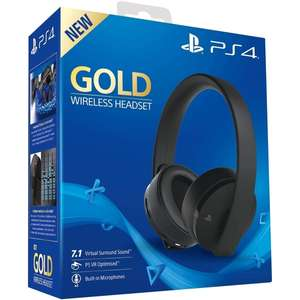 PlayStation 4 Gold Wireless Headset in Black/White £49.99 @ 365games