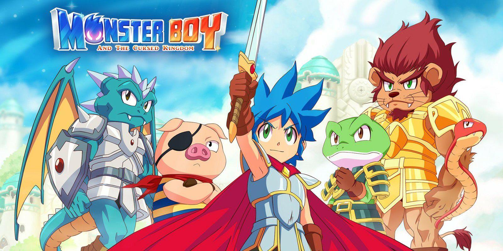 Monster Boy and the Cursed Kingdom Nintendo UK  eShop £29.74