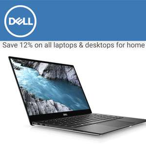 Dell 72 hour sale - 12% off all PCs/Laptops