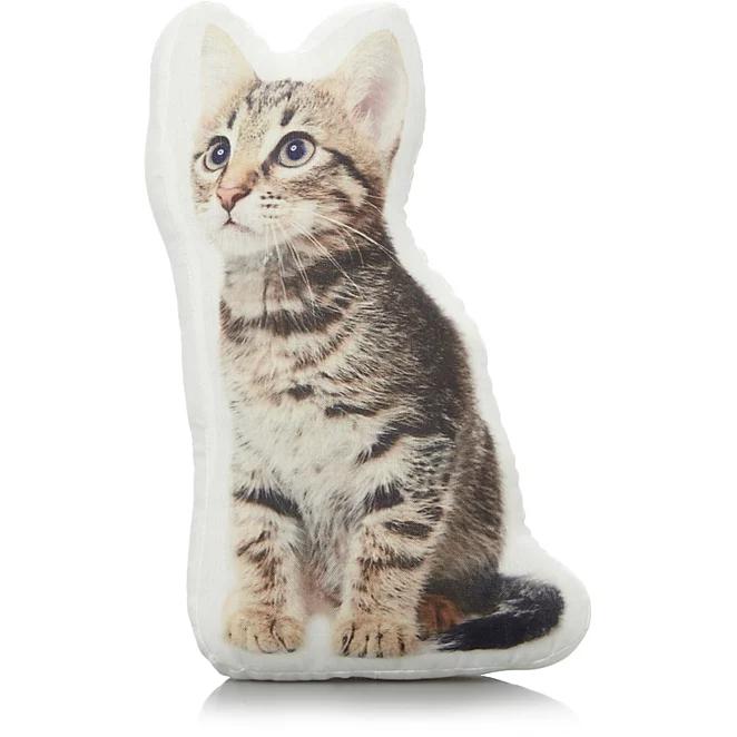 Cat-Shaped Mini Cushion @ George. Was £5, Now £3. Free C&C