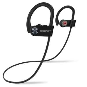 TeckNet Bluetooth Sports Headphones w/mic / IPX7 £12.49 Prime / £16.98 non prime Sold by BLUETREE and Fulfilled by Amazon