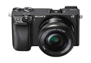 Sony A6300 Compact System Camera with 1650 Power Zoom Lens - £639 @ Amazon