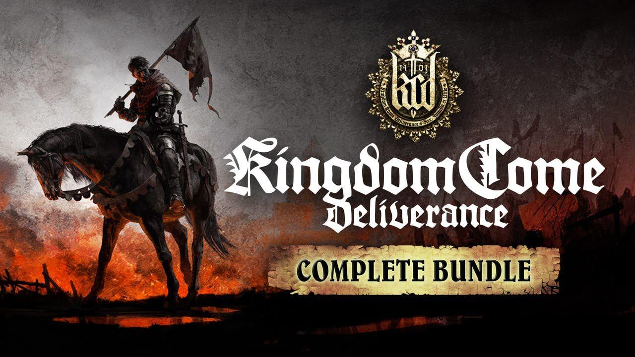 Kingdom Come: Deliverance Complete Bundle Inc Base game & 4 DLC PC Steam Key £26.99 @ Fanatical