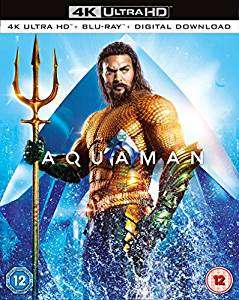 Aquaman 4K Ultra HD+ Blu-Ray+ Digital Download £15 @ Chili