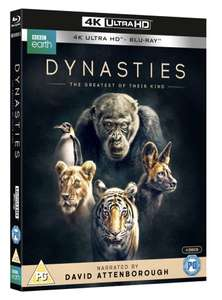 Dynasties (4K Ultra HD + Blu-ray) - £15.29 Delivered with code @ Zoom