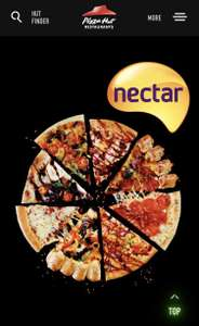 1000 Nectar Point = 1 Individual Pizza at Pizza Hut - Dine-in Only.