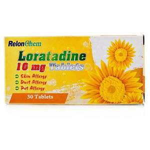 Loratadine allergy 10mg Tablets 30 Tablets - short dated 9p + £3.49 p&p at Pharmacyfirst - not to be sniffed at