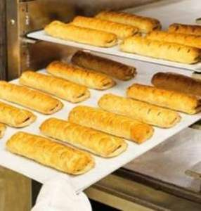 Morrisons 4 Pack From Bakery Counter Sausage Rolls or Cheese And Onion Rolls £1.25 Instore