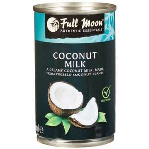 4 CANS Full Moon Coconut Milk 165ml £1 @ B&M Bargains