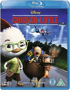 Disney's Chicken Little Blu-ray £2 instore / £3.50 delivered @ CeX