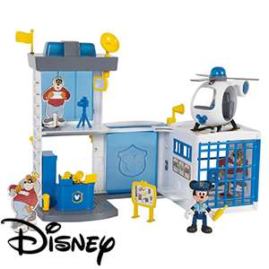 Mickey & the Roadster Racers: Mickey's Police Station - Play Set - £6.99 @ Home Bargains