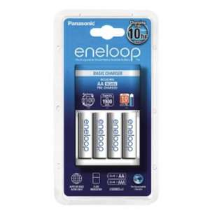 Eneloop 4 x AA batteries + basic charger - £6 instore only @ Waitrose